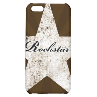 Rockstar iPhone Case (grunge textures - light) Case For iPhone 5C
