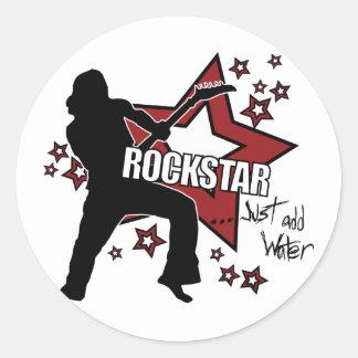 Rockstar Just Add Water Sticker