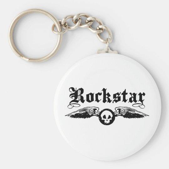 Rockstar Keychain