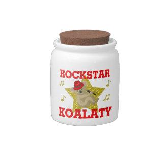 Rockstar Koalaty Singing Party Animal Candy Jar