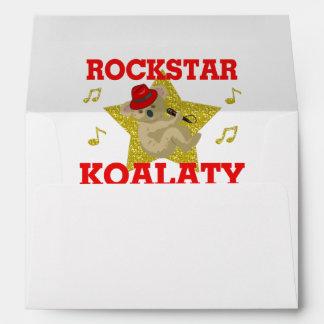 Rockstar Koalaty Singing Party Animal Envelope