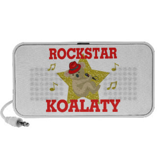 Rockstar Koalaty Singing Party Animal iPhone Speaker