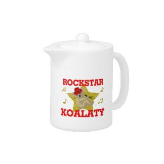 Rockstar Koalaty Singing Party Animal Teapot