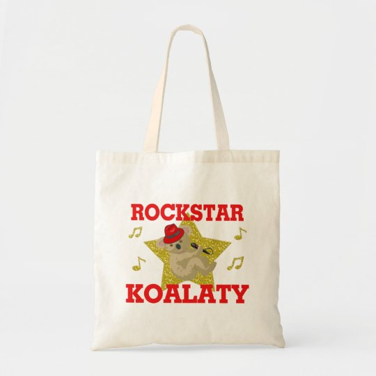 Rockstar Koalaty Singing Party Animal Tote Bag