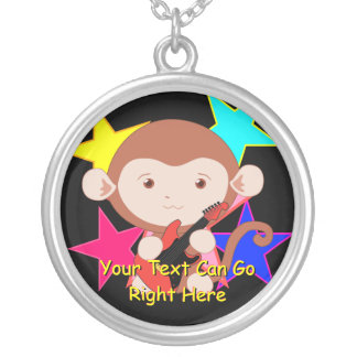 Rockstar Monkey Necklace