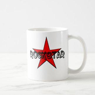 RockStar Classic White Coffee Mug