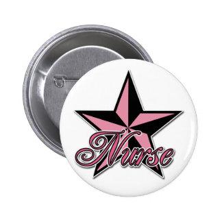 Rockstar Nurse Pinback Button