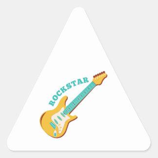 Rockstar Pegatina Triangulo Personalizadas
