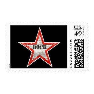 Rockstar Postage Stamps