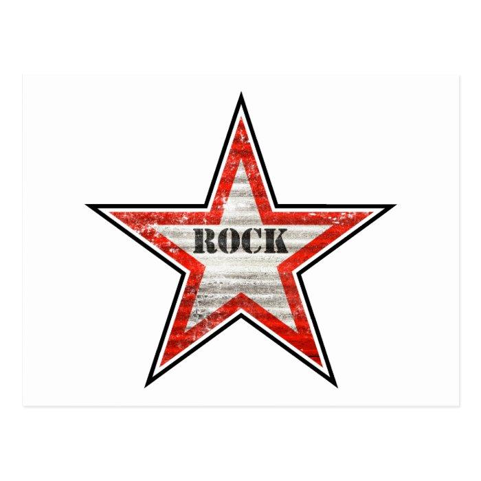 Rockstar Postcard (white background)