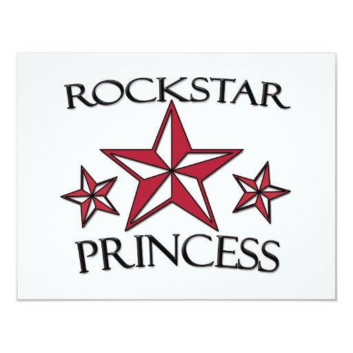 Rockstar Princess Invitations