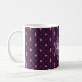 Rockstar Princess Pink Pattern for Girls & Women Coffee Mug