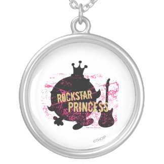 Rockstar Princess Silver Plated Necklace