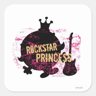 Rockstar Princess Square Sticker