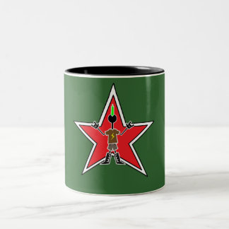 Rockstar Two-Tone Coffee Mug