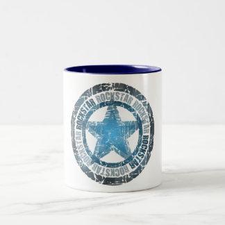 Rockstar - Two-Tone Mug