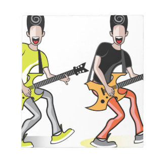 Rockstar vector notepad
