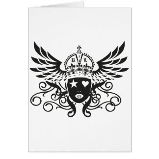 Rockstars And Lovers Brand fashion Clothing Label Card