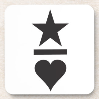 Rockstars And Lovers Brand fashion Clothing Label Beverage Coasters