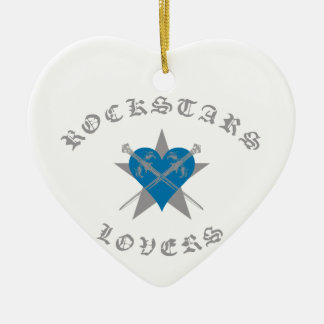 Rockstars And Lovers fashion Clothing accessories Ceramic Ornament
