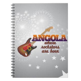 Rockstars are born in Angola Notebook