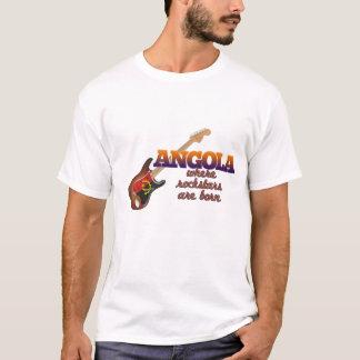 Rockstars are born in Angola T-Shirt