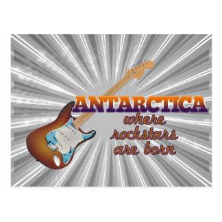 Rockstars are born in Antarctica Postcards