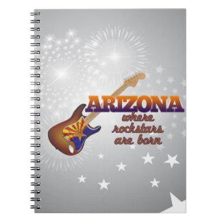 Rockstars are born in Arizona Notebook