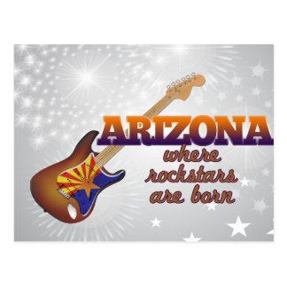 Rockstars are born in Arizona Postcard