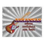 Rockstars are born in Arkansas Postcard