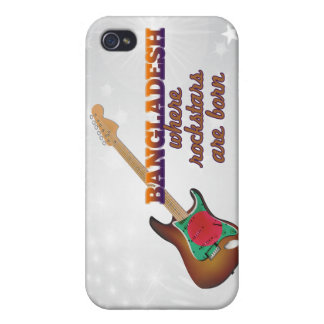 Rockstars are born in Bangladesh Covers For iPhone 4