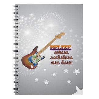 Rockstars are born in Belize Note Book