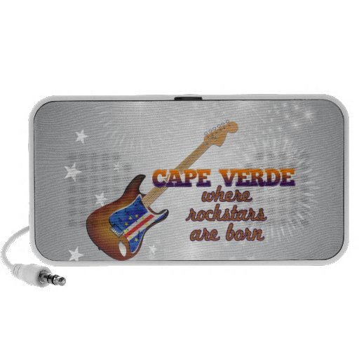 Rockstars are born in Cape Verde iPhone Speaker