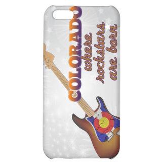 Rockstars are born in Colorado iPhone 5C Covers