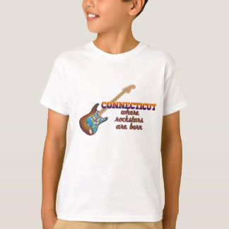 Rockstars are born in Connecticut T-Shirt