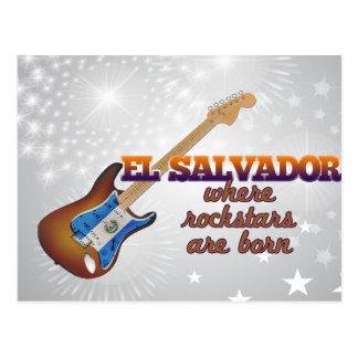 Rockstars are born in El Salvador Postcard