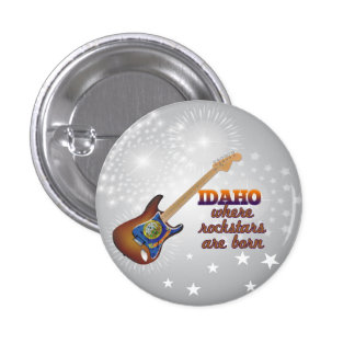 Rockstars are born in Idaho Pins