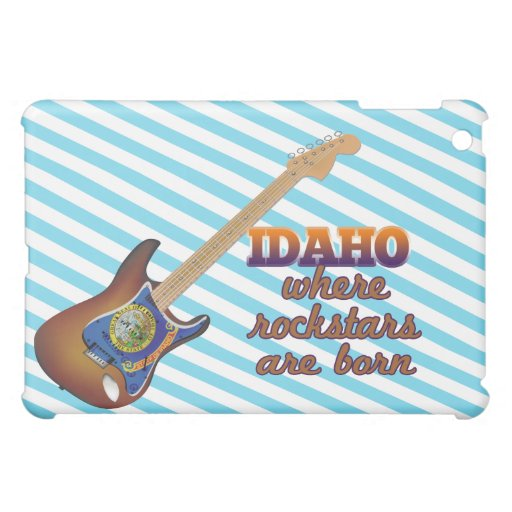 Rockstars are born in Idaho iPad Mini Covers