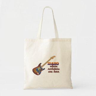Rockstars are born in Idaho Tote Bag