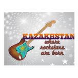 Rockstars are born in Kazakhstan Postcard