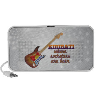 Rockstars are born in Kiribati Laptop Speakers
