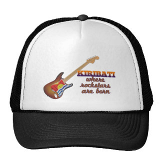 Rockstars are born in Kiribati Trucker Hats