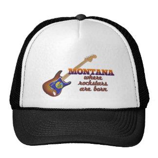 Rockstars are born in Montana Trucker Hats
