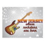 Rockstars are born in New Jersey Postcards