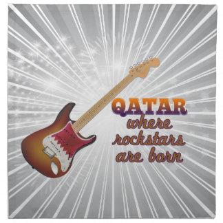 Rockstars are born in Qatar Napkin