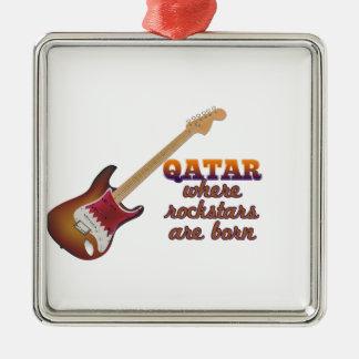 Rockstars are born in Qatar Ornament