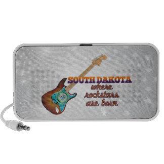 Rockstars are born in South Dakota iPod Speaker