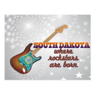 Rockstars are born in South Dakota Post Card