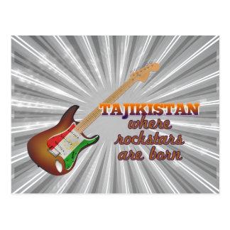 Rockstars are born in Tajikistan Postcard