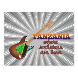 Rockstars are born in Tanzania Postcard